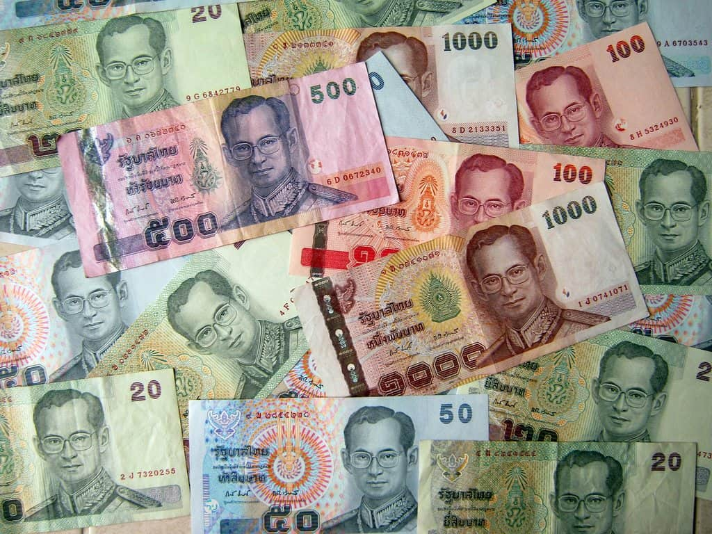 Forex exchange rates in thailand