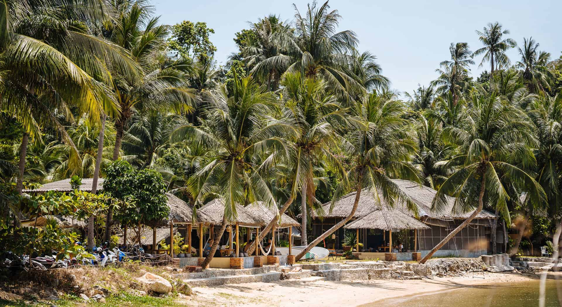 Orion Healing Center and beach in Koh phangan